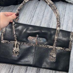 snake skin purse